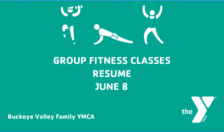 Group Fitness Resumes June 8